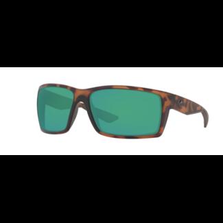 Costa Reefton 66 Matte Retro Tortoise W/ Green Mirror