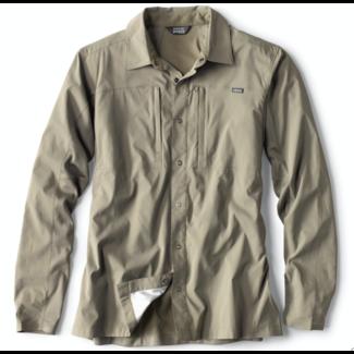 Orvis Pro Hybrid Long Sleeve Shirt Sage