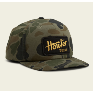 Howler Brothers Structured Snapback - Howler Electric : Camo