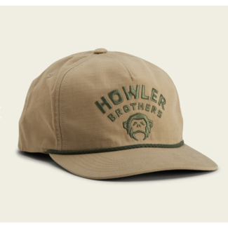 Howler Brothers Unstructured Snapback - Camp Howler : Khaki