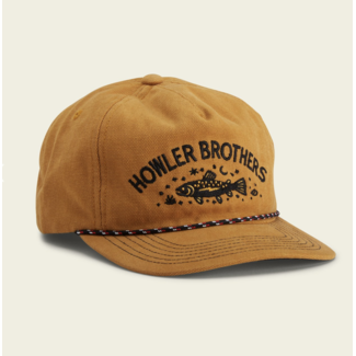 Howler Brothers Unstructured Snapback - Creative Trout : Old Gold