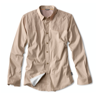Orvis Long-Sleeved Featherweight Shooting Shirt Sand