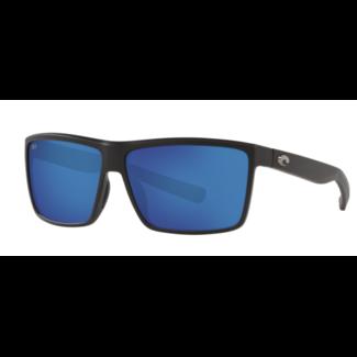 Costa Rinconcito Matte Black Frame Blue Mirror 580G
