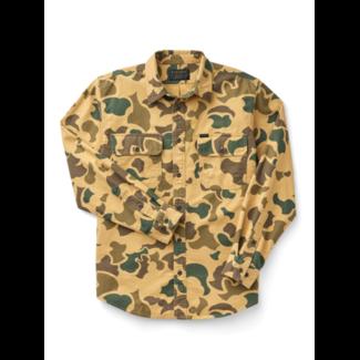 Filson Field Flannel Shirt Light Shrub Camo