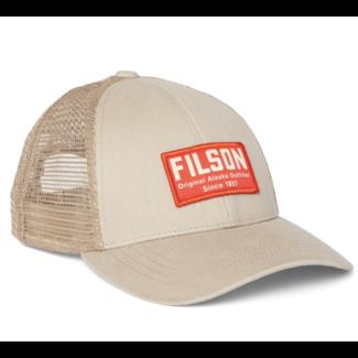 Filson Mesh Snap-Back Logger Cap Khaki