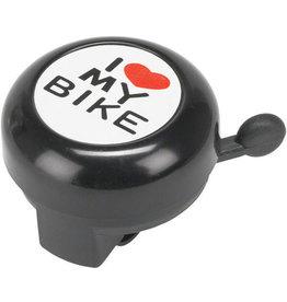 "Dimension Dimension ""I Heart My Bike"" Black Bell"