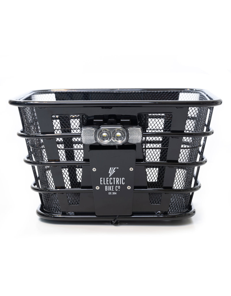Electric Bike Company Electric Bike Company Basket-Front Black