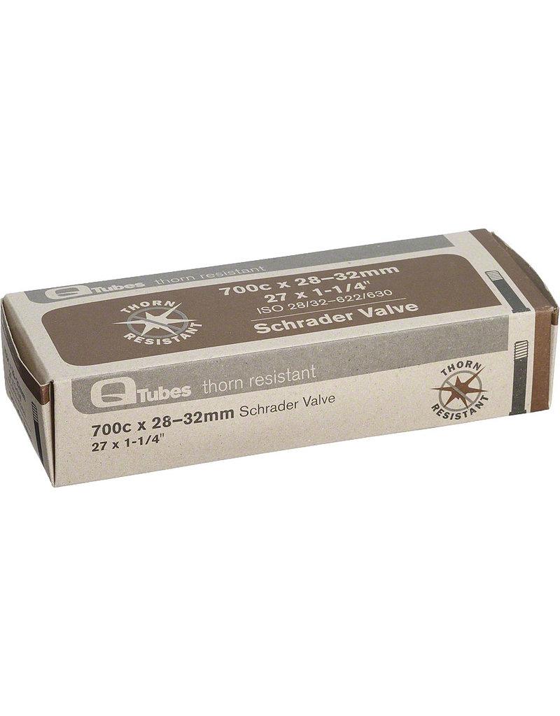 Q-Tubes Q-Tubes Thorn Resistant 700 x 28-32mm Schrader Valve Tube 400g