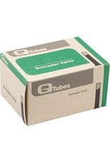 """Q-Tubes Q-Tubes 700 x 23-25mm Schrader Valve Tube 110g 27"""" x 1-1/8"""""""