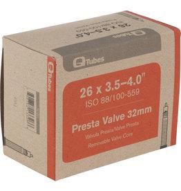 """Q-Tubes Q-Tubes 26 x 3.5-4.0"""" Fat Bike Tube: 32mm Presta Valve"""