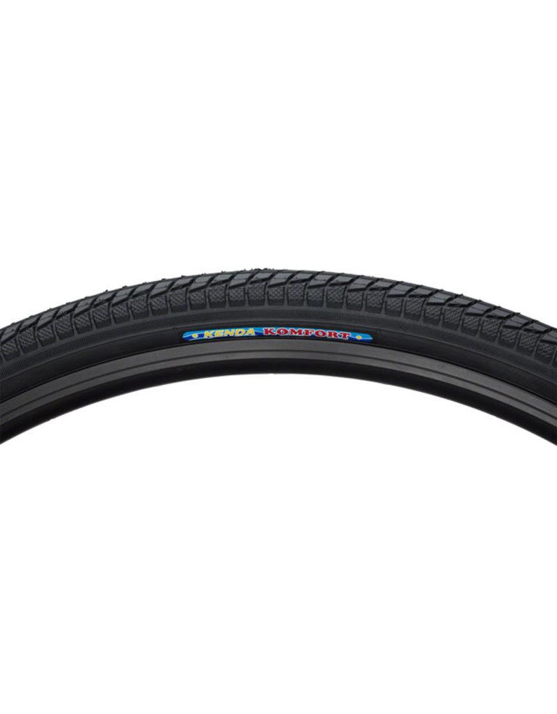 Kenda Kenda Komfort Tire - 700 x 40, Clincher, Wire, Black, 60tpi