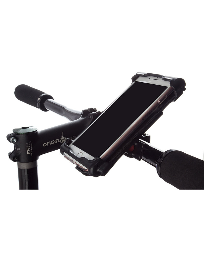 Delta Delta Smart Phone Holder Caddy xl black-handlebar mount