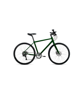 Roll Bike Roll C:1 City  (large green silver components mens)