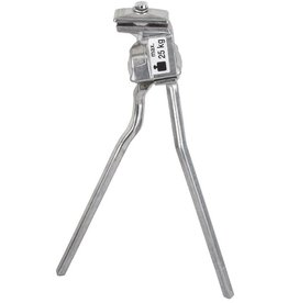 Pletscher/Esge Double Kickstand Silver
