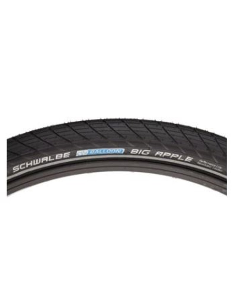 Schwalbe Schwalbe Big Apple Tire 20 x 2.00 W Endr B/R