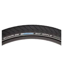 Schwalbe Schwalbe Big Apple Tire - 29 x 2.35, Clincher, Wire, Black/Reflective, Performance Line