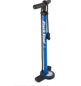 Park Tool Park Tool PFP-8 Home Mechanic Floor Pump, Blue/Black