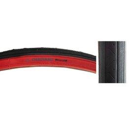 Chaoyang Chaoyang Tire 27 x 1 1/4 H-424 Black/Red Wall