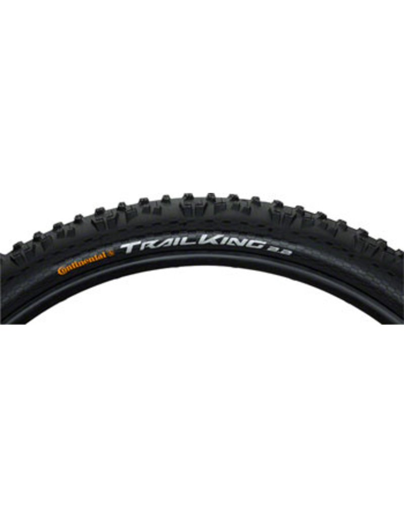 Continental Continental Trail King Tire - 29 x 2.2, Clincher, Folding, Black, ShieldWall