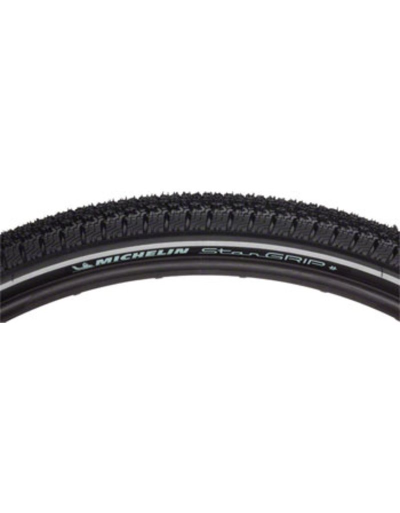 Michelin Michelin Star Grip Tire - 700 x 40, Clincher, Wire, Black