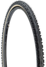 Kenda Kenda Kross Plus Tire - 700 x 38, Clincher, Wire, Black/Tan, 30tpi