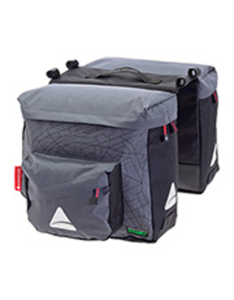 Axiom Axiom Seymour O Weave Pannier Bag Gray/Black