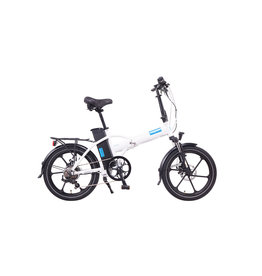 Magnum Bikes Magnum Premium White Low Step Folder (Mag Wheels)
