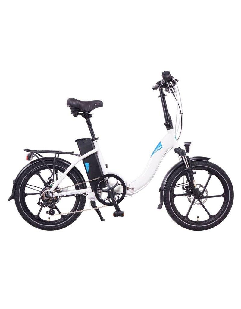 Magnum Bikes Magnum Premium 2.0 Folder Low Step White (Mag Wheels, hydraulic brakes)
