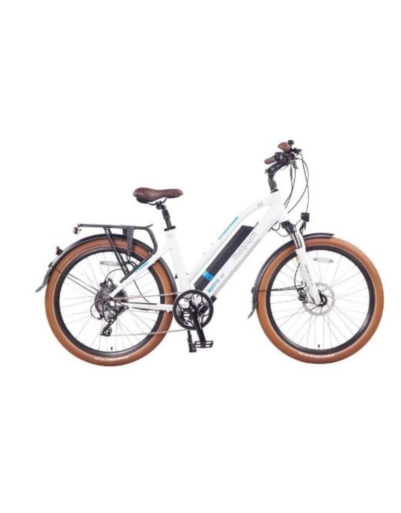 Magnum Bikes Magnum Metro+ Low Step White