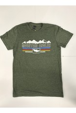 Ouray Mountain Angler LOGO Tee Shirt - Ouray  Vintage Sheer