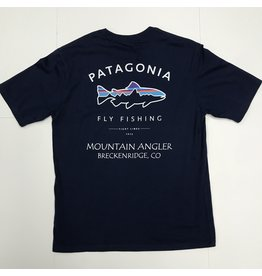 Patagonia Patagonia - M's Framed Fitz Roy Trout Organic MT ANGLER LOGO T-Shirt