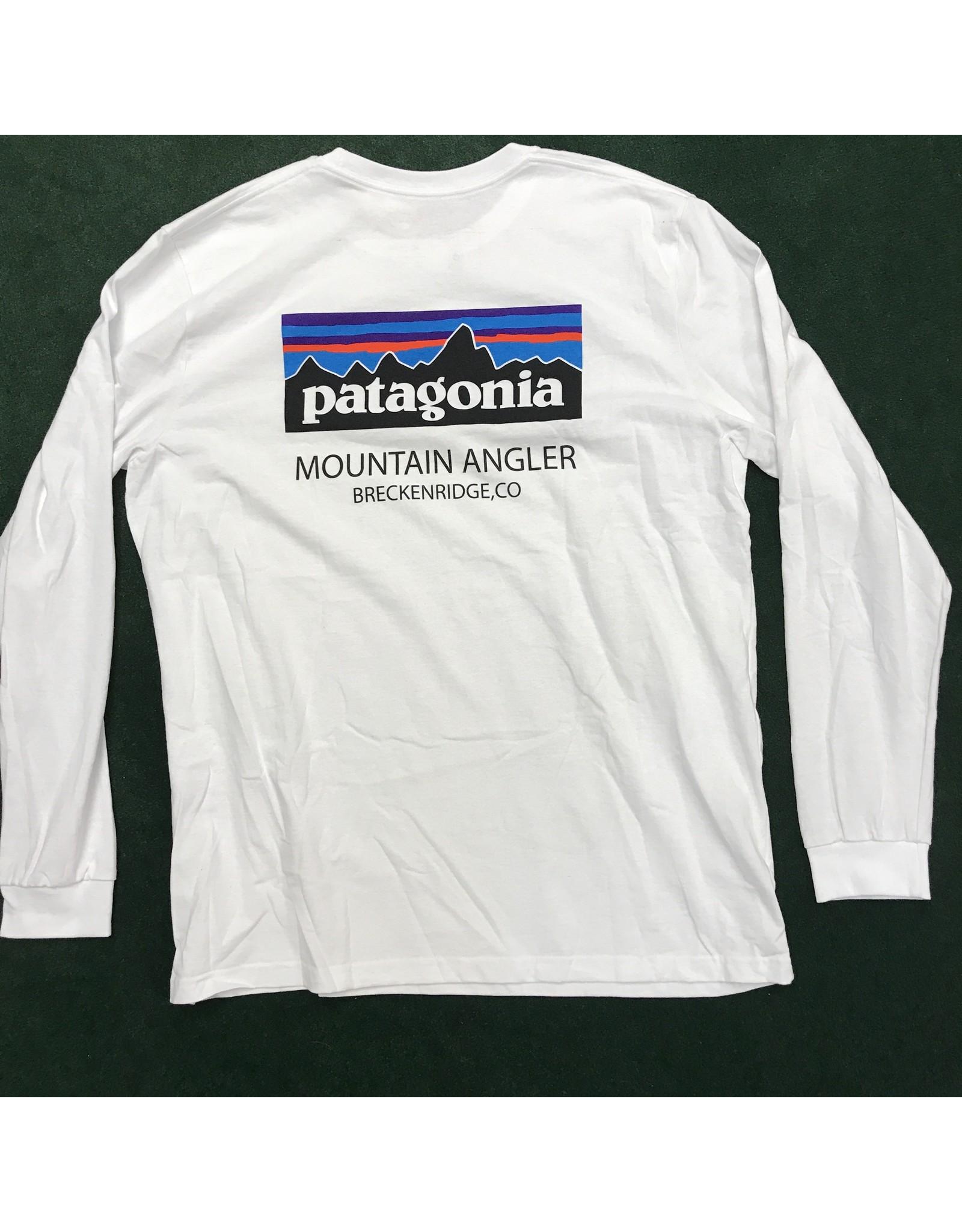 Patagonia Patagonia - Men's L/S P/6 MT ANGLER LOGO Responsibili-Tee