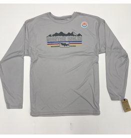 Ouray Ouray - Performance L/S MOUNTIAN ANGLER LOGO Tee