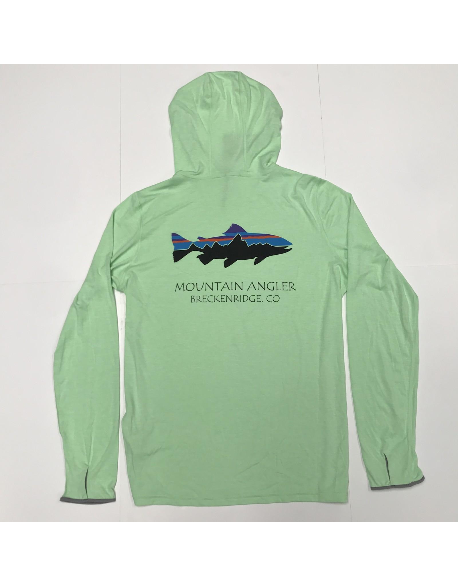 Patagonia Patagonia - Tropic Comfort MOUNTAIN ANGLER LOGO Hoody