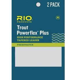 Rio Products Rio - Powerflex Plus Trout Leader - 2 Pack