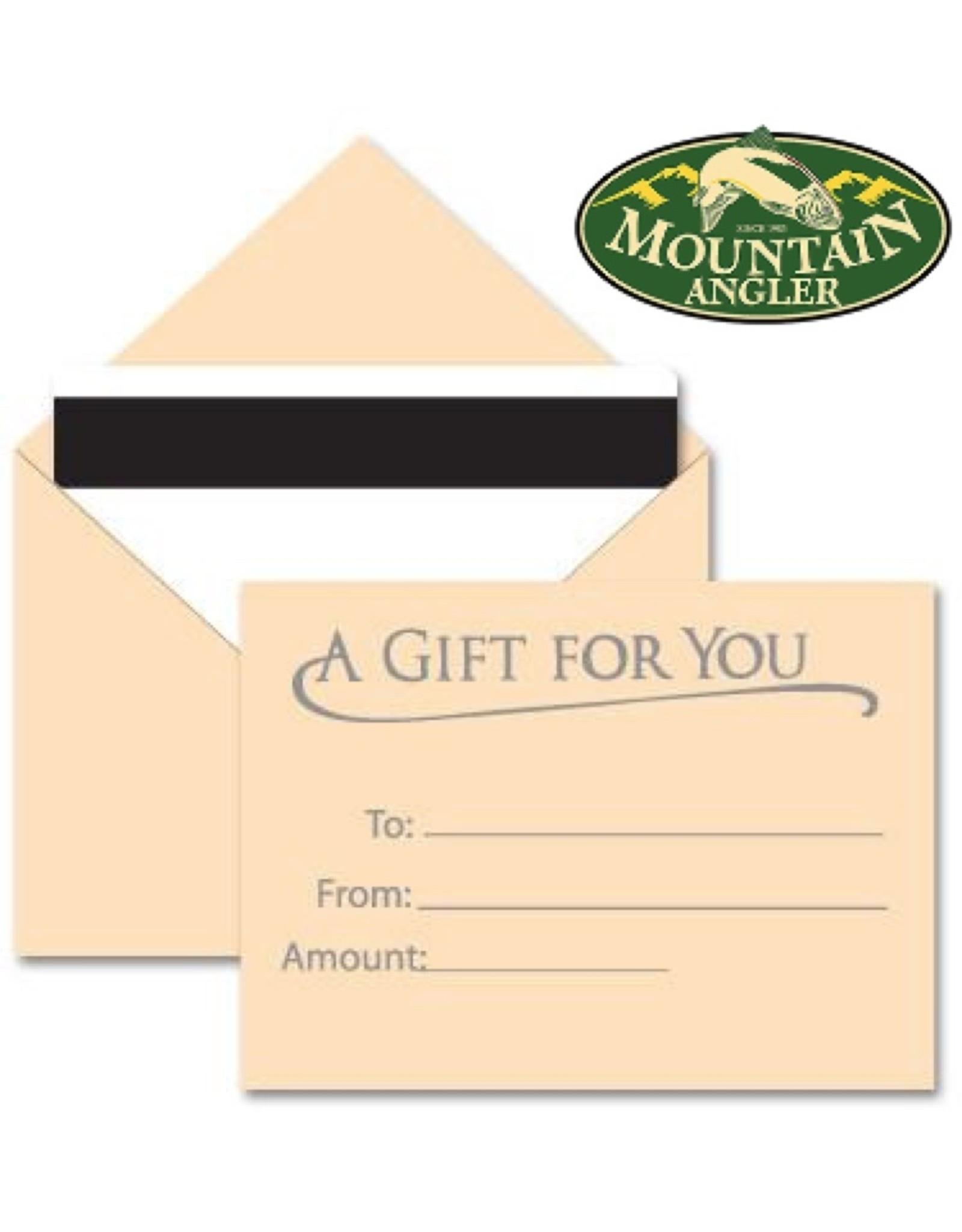 Mountain Angler - Gift Card
