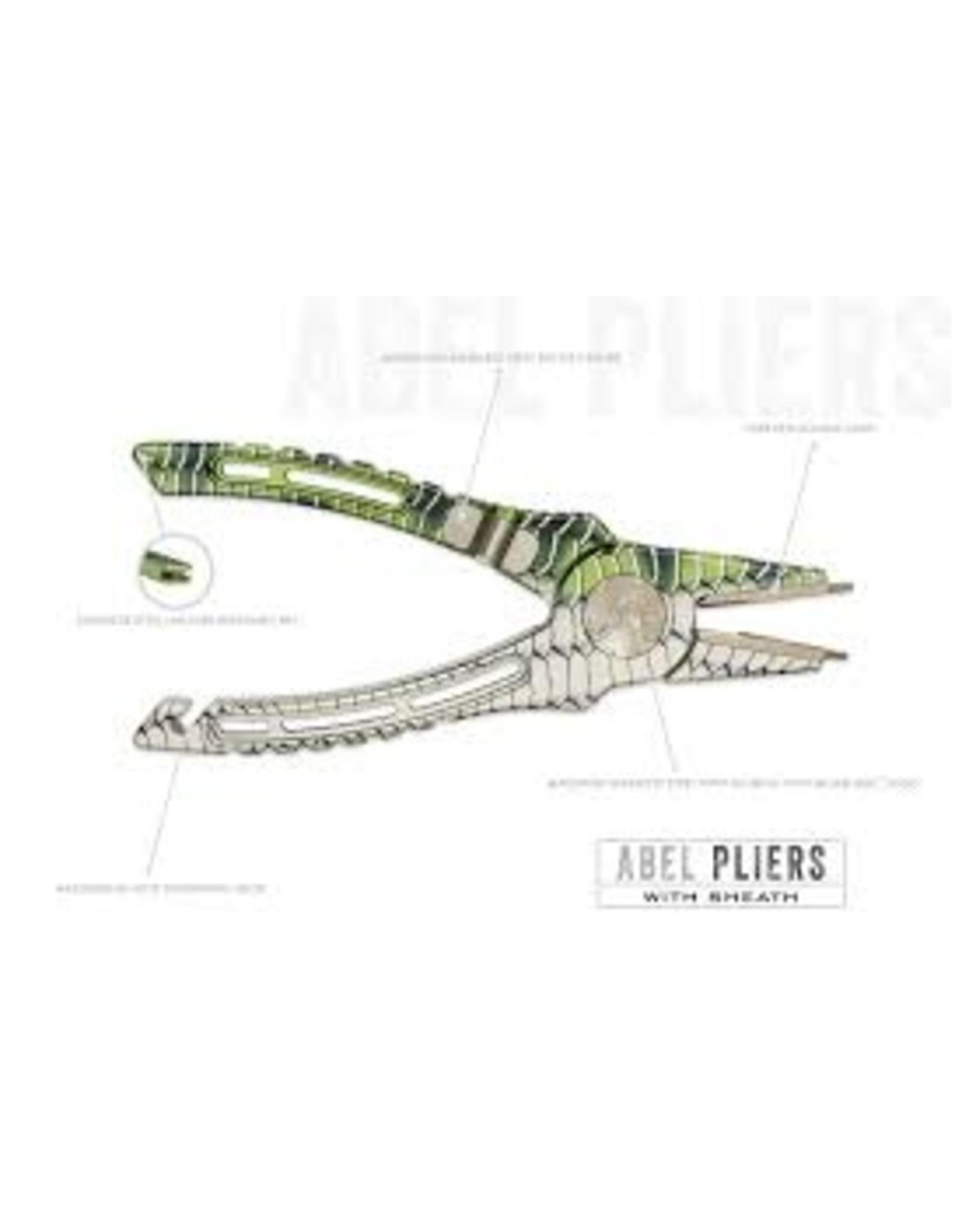 Abel Reels Abel - Pliers w/ Leather Sheath and Lanyard