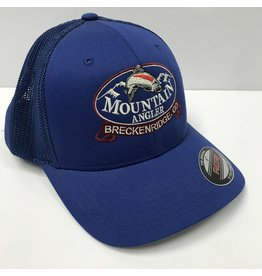 Ouray MA LOGO Flexfit Trucker Mesh Cap