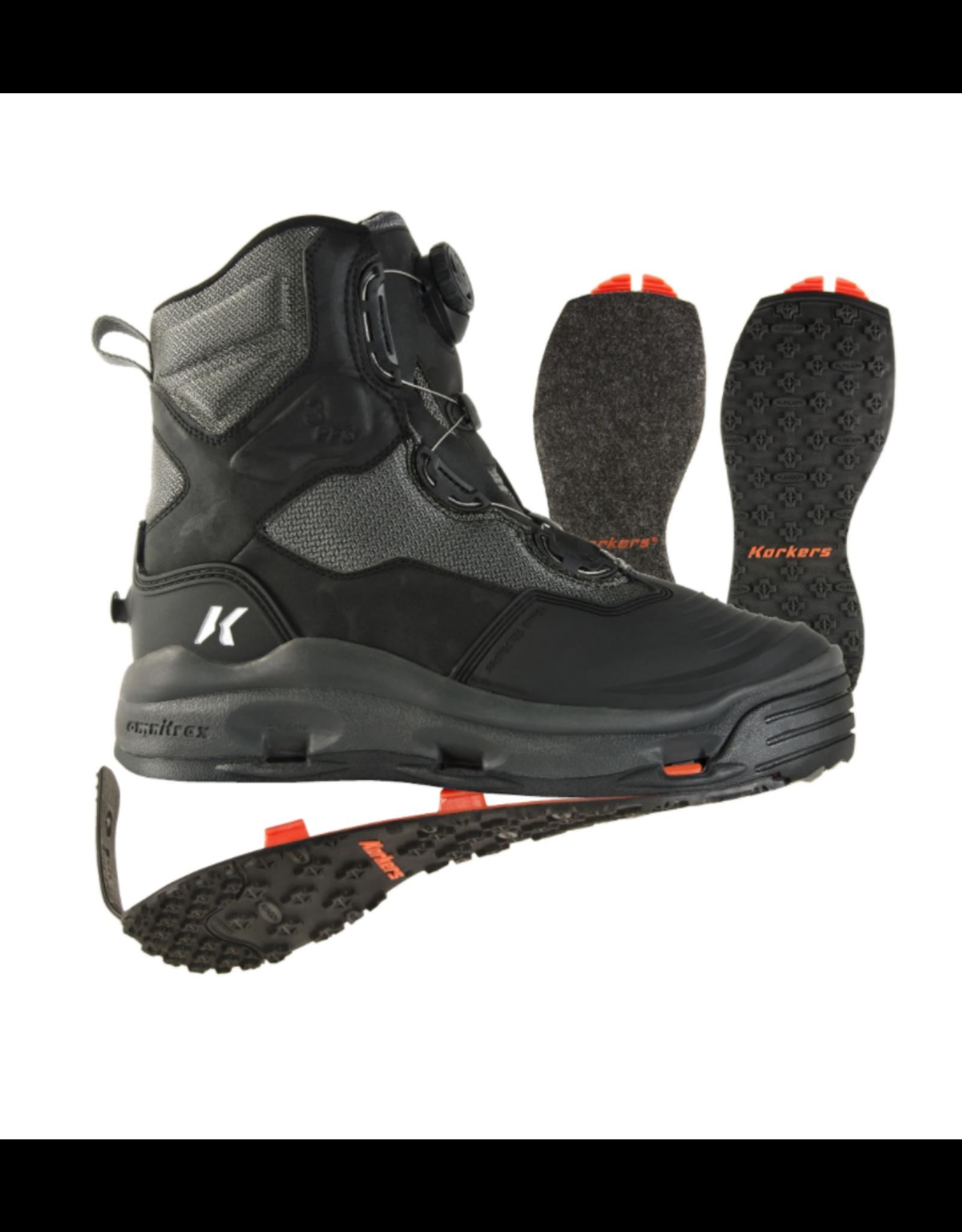 Korkers Korkers - Darkhorse Wading Boot - Felt & Kling-On Soles