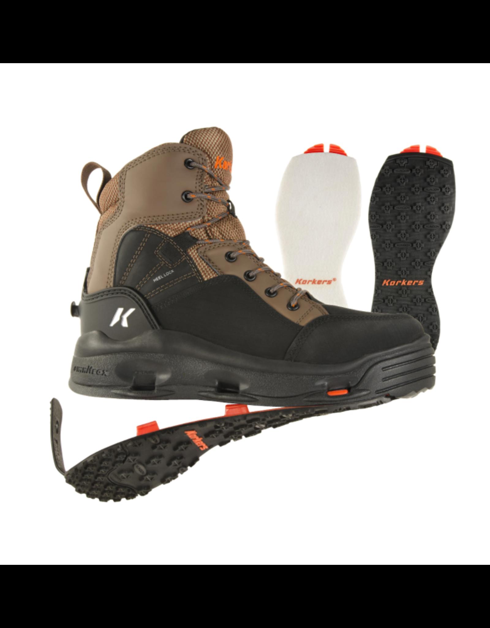 Korkers Korkers - Buckskin Wading Boot - Kling-On & Felt Sole