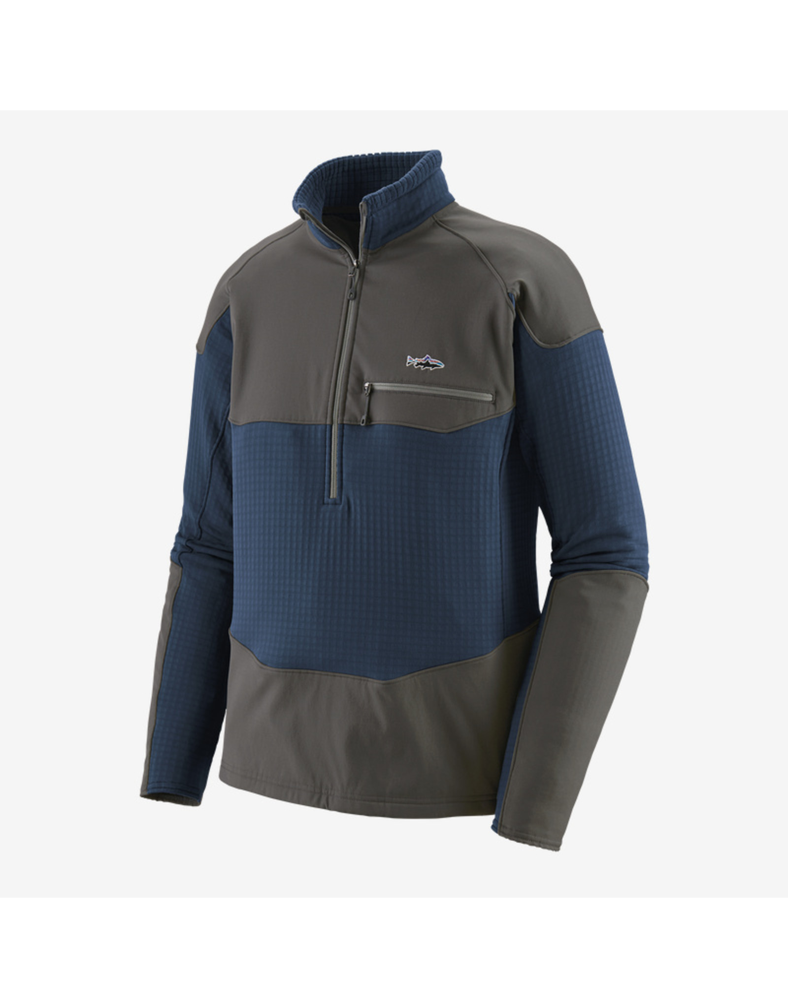 Patagonia Patagonia - Men's Long-Sleeved R1 Fitz Roy 1/4-Zip