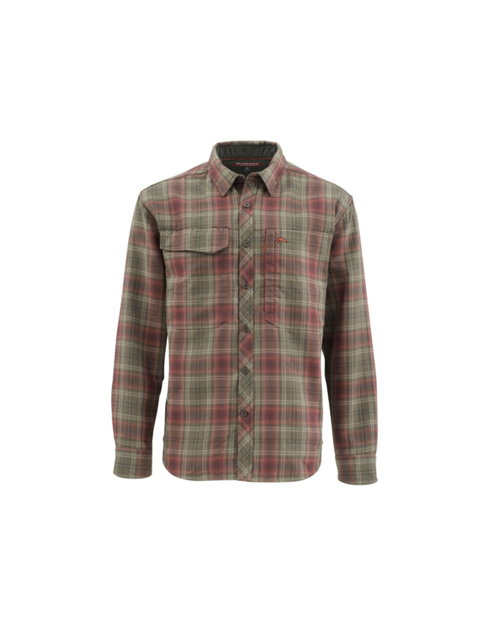 Simms Simms - Guide Flannel Long Sleeve Shirt