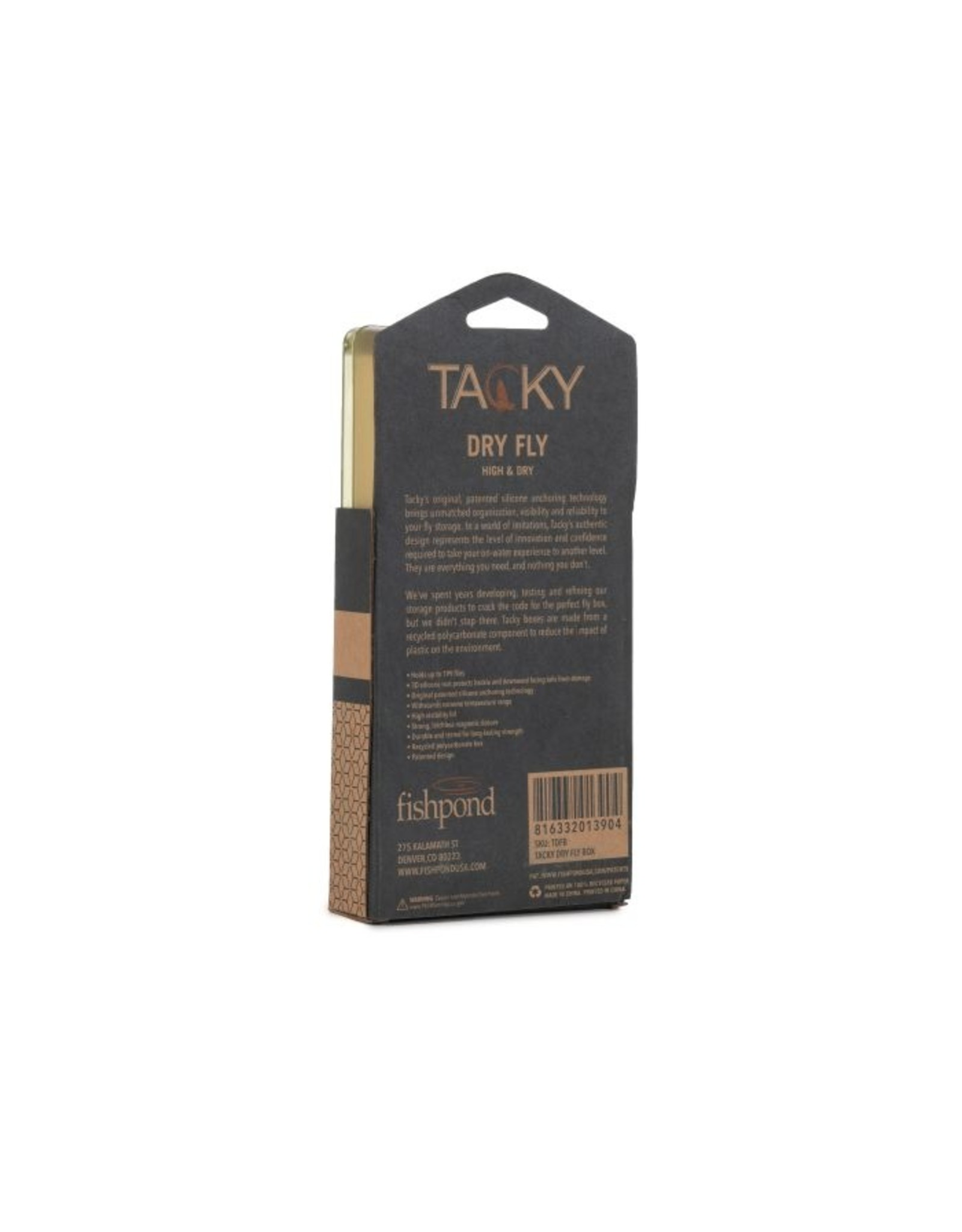Fishpond Fishpond - Tacky Dry Fly Box