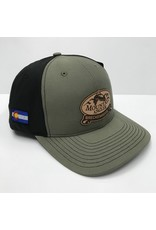 Richardson Richardson - Twill Back Trucker Cap - MOUNTAIN ANGLER LOGO