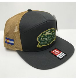 Richardson MA LOGO  7 Panel Twill Trucker Cap