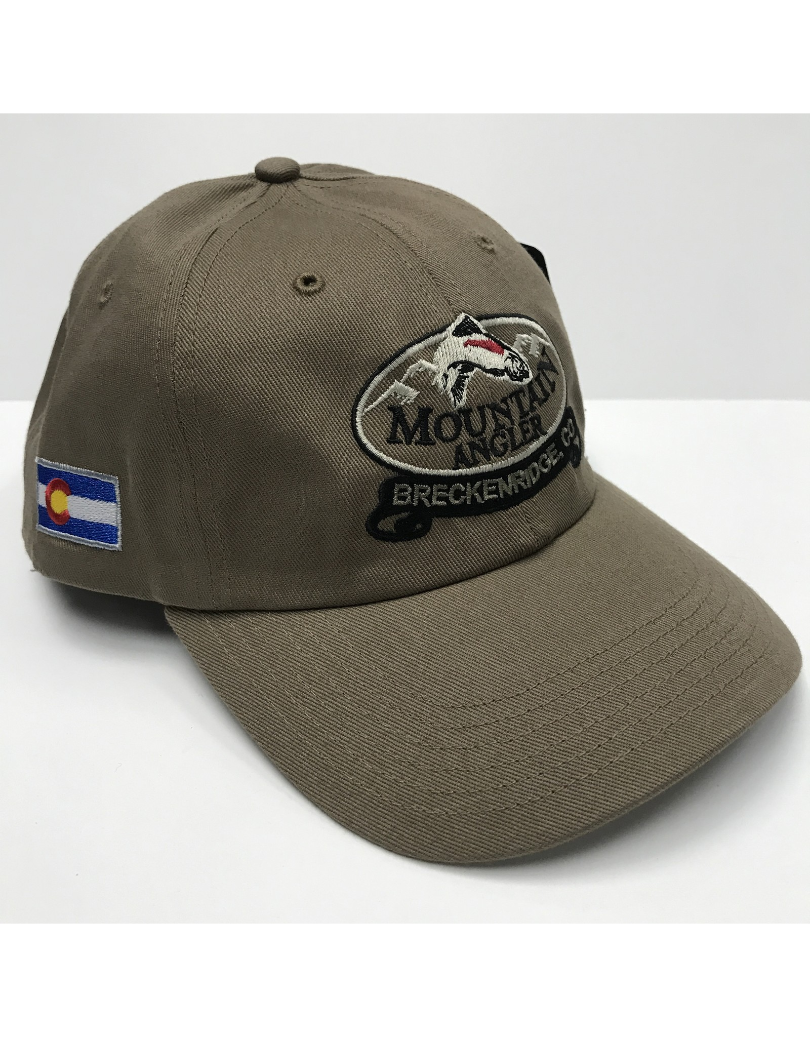 Richardson Richardson - R65 Unstructured Twill Cap - MOUNTAIN ANGLER LOGO