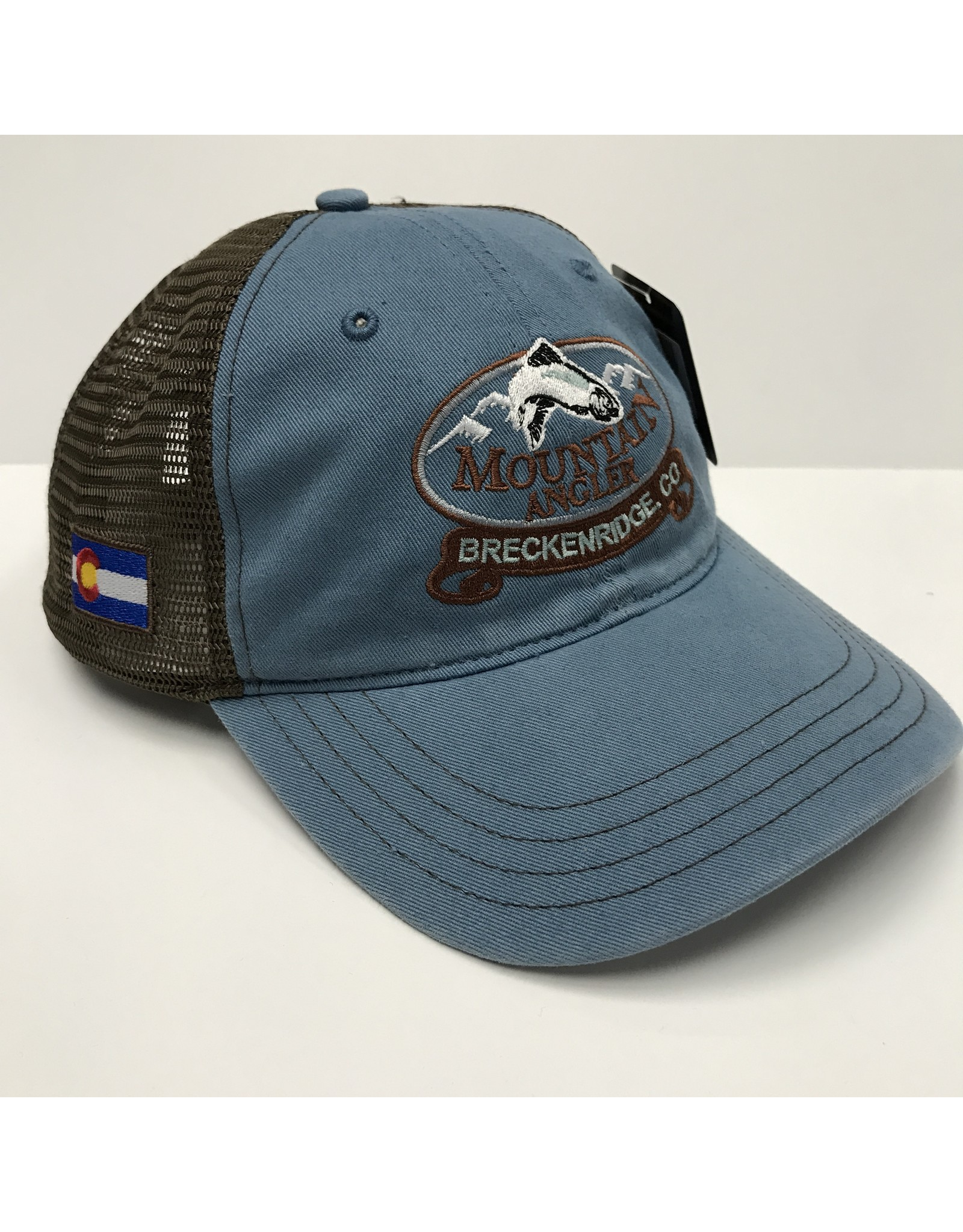 Richardson Richardson - Garment Washed Trucker Cap - MOUNTAIN ANGLER LOGO