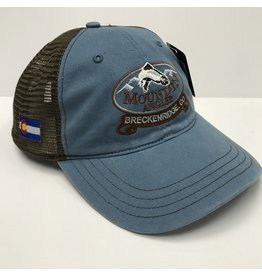 Richardson MA LOGO - Garment Washed Trucker Cap