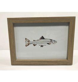 """Martha Grace Henry Framed 8"""" X 6"""" Oil Painting"""