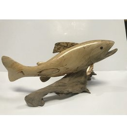 Mountain Anlger Carved Trout - Small